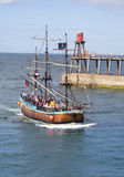 Whitby tourist boat tour Royalty Free Stock Image