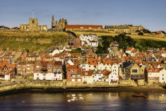 Whitby town Royalty Free Stock Images