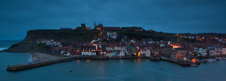 Whitby Town Stock Image
