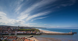 Whitby Town Royalty Free Stock Photography