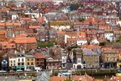 Whitby Town, England Stockbild