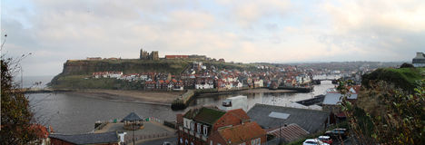 Whitby town and harbour. Stock Images