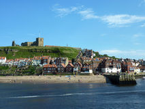 Whitby view Royalty Free Stock Photos