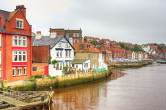 Whitby village Stock Photography
