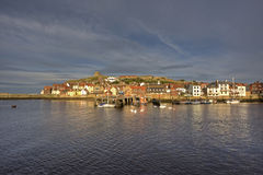 Whitby village Royalty Free Stock Photos