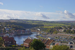 Whitby village Royalty Free Stock Photography