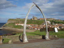 Whitby Through the Whalebones Royalty Free Stock Photo