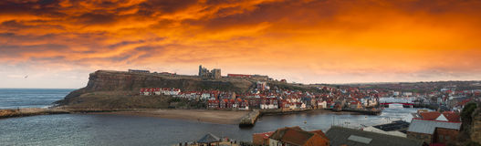 Whitby, Yorkshire, Engalnd Royalty Free Stock Photography