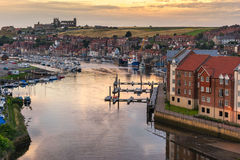 Whitby in Yorkshire Engeland Royalty-vrije Stock Afbeelding