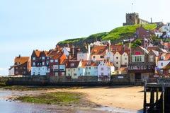 Whitby Yorkshire England Großbritannien Lizenzfreies Stockbild