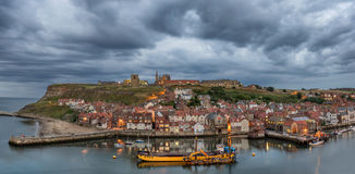 Whitby in Yorkshire England Royalty Free Stock Image