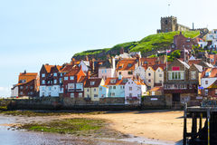 Whitby Yorkshire England UK royaltyfri bild