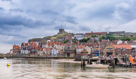 Whitby in Yorkshire Inghilterra Immagini Stock
