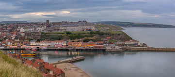 Whitby in Yorkshire Royalty Free Stock Photography