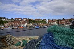 Whitby (Yorkshire) royalty free stock images