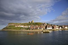 Whitby (Yorkshire) stock image