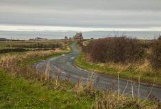Whitby, Yorkshire - una opinión el Abby a distancia Imagenes de archivo