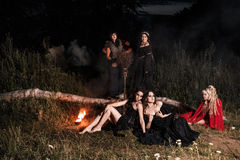 Whitches coven stock image