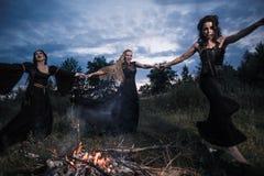 Whitches-Hexenversammlung Lizenzfreies Stockbild