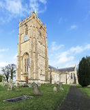 Whitchurch Canonicorum Church. Surprising large and grand for a village church, St. Candida and Holy Cross is very special.  Now 1000 years old. This small Stock Image