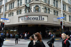 Whitcoulls books store on Queens street Auckland New Zealand Stock Photo