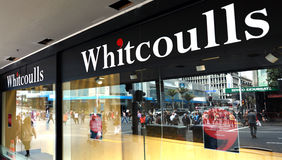 Whitcoulls books store on Queens street Auckland New Zealand Stock Photos