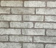 White old brick wall. royalty free stock images