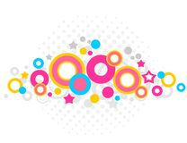 White abstract background vector illustration