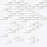 White abstract background. Abstarct white background with paper pieces and shadow Royalty Free Stock Photography