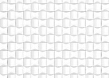 White abstract background design pattern. 3d render. Wite abstract background design pattern. 3d rendering Royalty Free Stock Image
