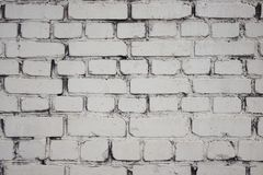 White background in the form of a brick wall stock photography