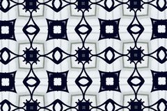 White abstract background pattern textured. Lines and symmetrical shapes stock images