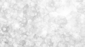 White abstract background of small hexagons Stock Image