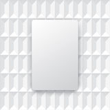 White abstract background vector. Stock Image