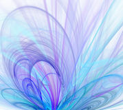 White abstract background with - violet, turquoise, blue, purpl. E - texture, fractal pattern stock illustration