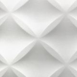 White Abstract 3D Modern Home Interior Polystyrene Tile Wall Bac Royalty Free Stock Photography