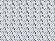 White abstract 3D texture of a honeycomb with shadows. 3d render royalty free illustration