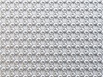 White abstract 3D texture of a honeycomb with shadows. 3d render stock illustration