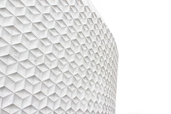 White abstract facade Royalty Free Stock Images
