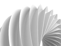 White Abstract Geometric Figure Background Stock Images