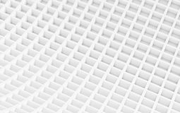 White abstract image of cubes background. 3d render Royalty Free Stock Photo