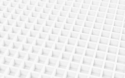 White abstract image of cubes background. 3d render. Ing royalty free illustration