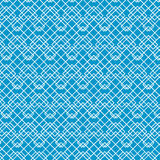 White Abstract Line Pattern on Blue, vector Royalty Free Stock Images