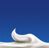 White abstract liquid background Stock Photography
