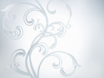 White abstract ornaments Royalty Free Stock Images