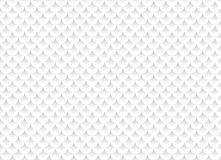 White abstract seamless pattern with geometric ornaments. Vector illustration Stock Photo