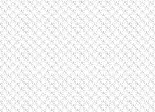 White abstract seamless pattern with geometric ornaments. Vector illustration Stock Photos
