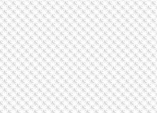White abstract seamless pattern with geometric ornaments. Vector illustration Royalty Free Stock Photo