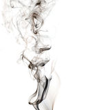 White_abstract_smoke_background. White abstract background with black smoke Royalty Free Stock Photos