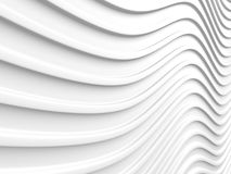 White Abstract Stripe Pattern Texture Background. 3d Render Illustration Royalty Free Stock Photography